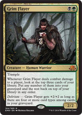 Grim Flayer(神話レア 異界月)