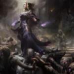 リリアナが描かれた黒レアソーサリー「Dark Salvation」が異界月に収録!黒XXのコストでX体のゾンビを生産し、ゾンビの数だけ対象のクリーチャーを-X/-Xの弱体化!※日本語名は「闇の救済」!