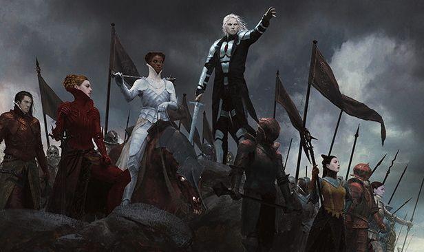ソリンが描かれたオルゾフカラーのエンチャント「復讐作戦」が異界月にアンコ収録!クリーチャーが攻撃するたびに1点のライフドレインが誘発!
