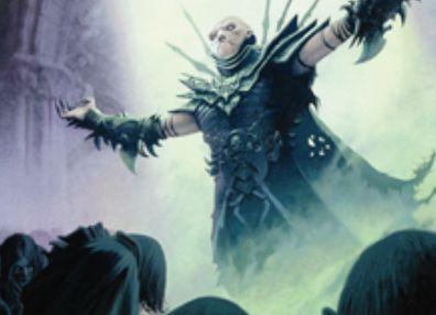 ギルド門侵犯「ダスクマントルの予見者」が神話レアからレアに格下げで再録!4マナ4/4「飛行」&全プレイヤーを「闇の腹心」状態に!