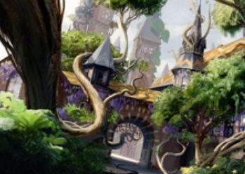 ストロングホールド「芽ぐみ」が王位争奪のレア枠で再録!相手が土地を出すたびに、自分も手札から土地を出せる!