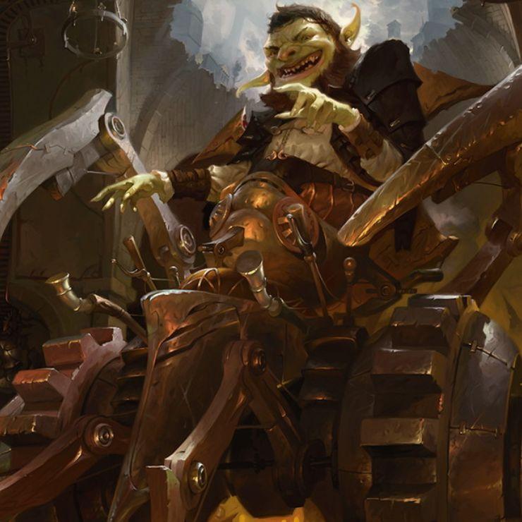 ラクドスカラーの新ダレッティ「巧妙な偶像破壊者、ダレッティ(王位争奪)」が公開!構築物トークン生産&アーティファクトorクリーチャー破壊&墓地か戦場のアーティファクトのコピーを3つ出す最終奥義を持つプレインズウォーカー!