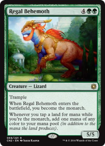Regal Behemoth(王位争奪)