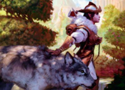 緑伝説神話のエルフ・スカウト「Selvala, Heart of the Wilds(王位争奪)」が公開!最大パワーのクリーチャーを出したプレイヤーに1ドローを与える&自軍の最大パワー点数分のマナを生産!
