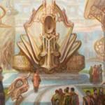 カラデシュにレア収録のアーティファクト「パンハモニコン」が公開!アーティファクトかクリーチャーのCIPによりパーマネントの能力が誘発した場合、その能力をさらにもう1回誘発させる!