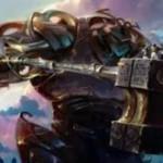 白の神話構築物「Cataclysmic Gearhulk」が公開!CIPで「悲劇的な傲慢」を誘発させる有色アーティファクト・クリーチャー!※日本語名は「激変の機械巨人」!