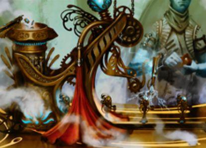 カラデシュ収録のレアアーティファクト「活性機構」が公開!+1/+1カウンター獲得のたびに追加マナで霊気装置トークン生産&パーマネントかプレイヤーが持つカウンターを増やす!