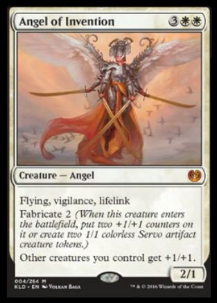 Angel of Invention(神話レア)