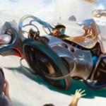 アンコモンのアーティファクト「楕円競走車」がカラデシュに収録!能力「搭乗」により、パワー1以上のクリーチャーを「搭乗」させることでクリーチャーとして運用できる機体カード!