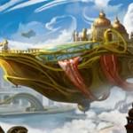 伝説神話の機体アーティファクト「領事の旗艦、スカイソブリン」がカラデシュに収録!CIPと攻撃時に生物かPWに3点ダメージを飛ばす「搭乗3」の飛行機械!※公式記事にて初期デザイン画が公開!