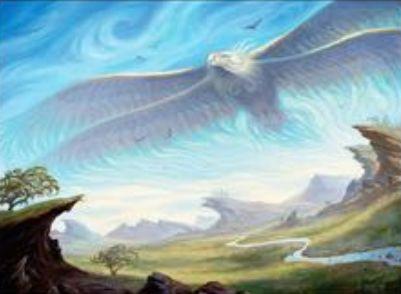 白レアの鳥「Aetherstorm Roc(カラデシュ)」が公開!クリーチャーが戦場に出るたび「エネルギー」を獲得し、攻撃時に2つのエネルギーを支払えば+1/+1カウンターを獲得しつつクリーチャー1体をタップする!