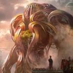 カラデシュ収録の神話構築物「Verdurous Gearhulk」が公開!5マナ4/4「トランプル」&CIPで4個の+1/+1カウンターをばら撒く、緑の有色アーティファクト・クリーチャー!※日本語名は「新緑の機械巨人」!
