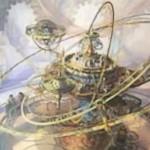 カラデシュ収録のレアアーティファクト「Ghirapur Orrery」が公開!自ターンの追加ランド設置権付与&自アップキープにノーハンドならば3ドロー!※日本語名は「ギラプールの宇宙儀」!