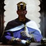 カラデシュ収録の伝説アドバイザー「配分の領事、カンバール」が公開!対戦相手の非クリーチャー呪文に反応して2点ドレインを誘発させるオルゾフカラーの人間!