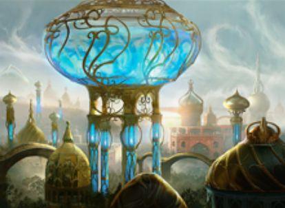 カラデシュのレア・アーティファクト「霊気貯蔵器」が公開!呪文を唱えるたびにターン中に唱えた呪文数分回復&50点のライフを支払って50点火力発動!