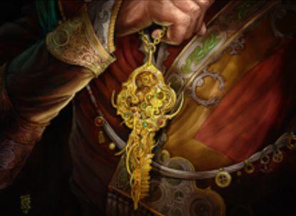 無色レアのアーティファクト「街の鍵(カラデシュ)」が公開!タップとディスカードで生物をブロック不可に&アンタップ時に2マナ支払うことでドロー!