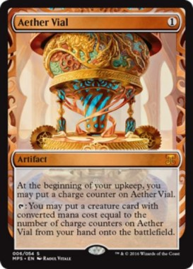 Aether Vial(霊気の薬瓶)(Kaladesh Inventions)