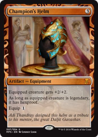 Crucible of Worlds(勇者の兜)(Kaladesh Inventions)