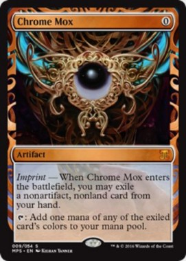 金属モックス(Chrome Mox)(Kaladesh Inventions)