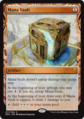 魔力の櫃(Mana Vault)(Kaladesh Inventions)
