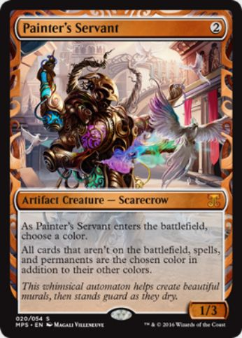 絵描きの召使い(Painter's Servant)(Kaladesh Inventions)