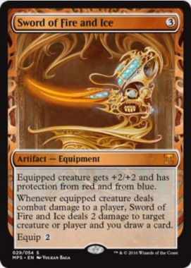 火と氷の剣(Sword of Fire and Ice)(Kaladesh Inventions)