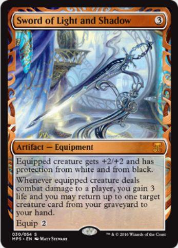 光と影の剣(Sword of Light and Shadow)(Kaladesh Inventions)