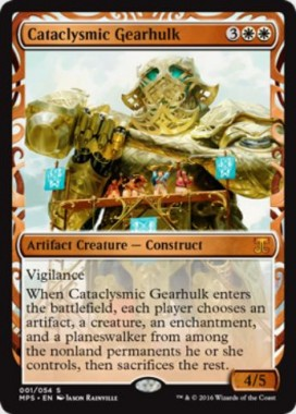 Cataclysmic Gearhulk(Kaladesh Inventions)