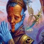 伝説の工匠ヴィダルケン「Padeem, Consul Of Innovation」が公開!自軍の全アーティファクトに呪禁を付与&自アップキープに最大マナコストのアーティファクトをコントロールしていれば1ドロー!※「発明の領事、パディーム」!