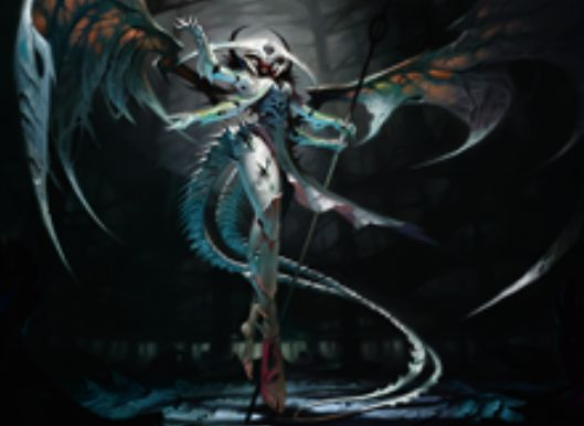 統率者2016に収録の伝説神話ホラー天使「法務官の声、アトラクサ」が公開!4マナ4/4で飛行&警戒&接死&絆魂を持ち、終了ステップ開始時には「増殖」も行う赤以外4色の統率者!