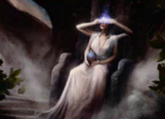 シミック色の伝説神話ウィザード「Kydele, Chosen of Kruphix」が統率者2016に収録!タップでそのターンに引いた枚数分の無色マナを生産&他の統率者と「共闘」可能!