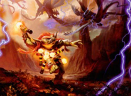 ラクドス色の伝説神話狂戦士ゴブリン「Vial Smasher the Fierce」が統率者2016に収録!あなたが各ターン最初の呪文を唱えるたび、そのマナ点数分のダメージをランダムな対戦相手に飛ばす&他の統率者と「共闘」可能!