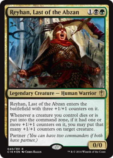 Reyhan, Last of the Abzan(統率者2016 レア)