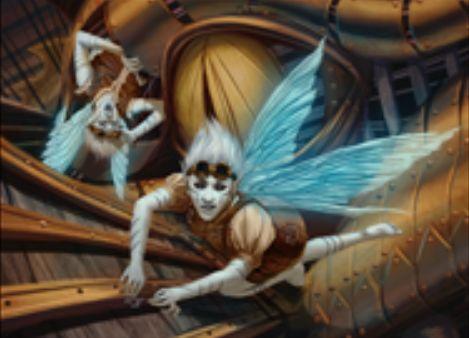青レアの工匠フェアリー「Faerie Artisans」が統率者2016に収録!対戦相手の戦場に出たクリーチャーのコピー・アーティファクトクリーチャー・トークンを生産!