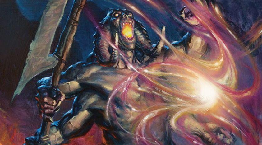 白以外4色の伝説オーガ「大渦を操る者、イドリス(統率者2016)」が公開!5/4トランプル&プレイヤーに戦闘ダメージを通したターンは手札から唱えた呪文が「続唱」持ちに!