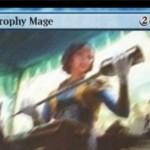 青アンコのウィザード「Trophy Mage(霊気紛争)」が公開!CIPでマナコスト3点のアーティファクトをライブラリーからサーチ!※日本語名は「戦利品の魔道士」!