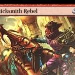 霊気紛争の赤レア工匠「Quicksmith Rebel」がサルベにてテキスト解読!CIPにてアーティファクト1つを2点ティムに変える!※日本語名は「速製職人の反逆者」!