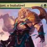 セレズニア色の新アジャニ「Ajani, the Unbreakable」が公開!MTG「霊気紛争」収録の神話プレインズウォーカー・アジャニ!※日本語版カード「不撓のアジャニ」が公開!
