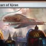 伝説神話機体「Heart of Kiran(霊気紛争)」が公開!2マナ4/4「飛行」「警戒」の「搭乗3」アーティファクト!プレインズウォーカーの忠誠値を使って「搭乗」することも可能!※日本語名は「キランの真意号」!