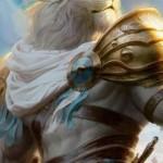 霊気紛争「勇敢な守護者、アジャニ(PWデッキ収録)」のフルアート・イラストが公開!