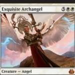 霊気紛争の白神話天使「Exquisite Archangel」が公開!ゲーム敗北時に追放され、あなたのライフをゲーム開始時に戻す!※日本語名は「極上の大天使」!