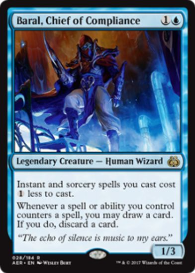 Baral, Chief of Compliance(霊気紛争)