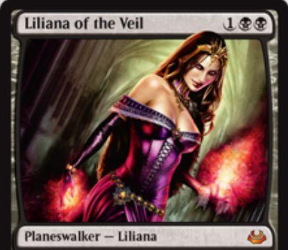 イニストラード「ヴェールのリリアナ」がモダマス2017の神話レア枠で収録!超人気の黒単プレインズウォーカーが待望の再録!