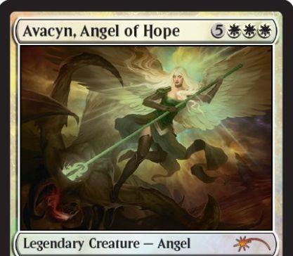 ジャッジFOIL版「希望の天使アヴァシン(アヴァシンの帰還)」がカード画像公開!