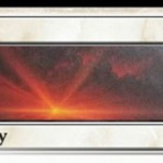 アモンケット収録「Dusk/Dawn」が非公式スポイラーに情報掲載!パワー3以上のクリーチャーを全破壊するソーサリーで、パワー2以下のクリーチャーを墓地から手札に回収する効果を墓地から発動することも可能な分割カード!※日本語名は「黄昏/払曉」!
