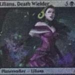 新リリアナ(アモンケット「プレインズウォーカーデッキ」収録)の解読テキストが非公式スポイラーに掲載!※日本語版カード「死の使い手、リリアナ」が公開!