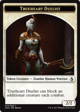 trueheart duelist のゾンビ化トークン