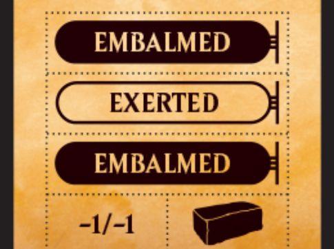 MTG「アモンケット」のパックに「Punch card」が封入決定!切り離してカウンターやマーカーとして使用可能!