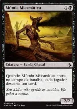 Miasma Mummy(アモンケット)別言語