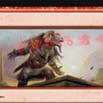 赤レアの分割呪文「嘲笑/負傷」が公開!自軍の発生源のダメージを倍増し、軽減不可に!余波効果はクリーチャーとプレイヤーへの2点ダメージ!